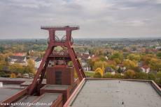 Zollverein Coal Mine Industrial Complex in Essen - Zollverein Coal Mine Industrial Complex in Essen: The iconic winding tower of shaft 12, a true masterpiece of architecture and technique, it...
