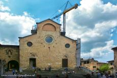 Historic Centre of San Gimignano - Historic Centre of San Gimignano: The Collegiate Church was consecrated in 1148 and dedicated to St. Geminianus or St. Gimignano, the patron...