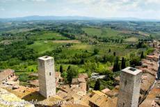 Historic Centre of San Gimignano - Historic Centre of San Gimignano: The Torre dei Becci and the Torre dei Cugnanesi are two of the remaining towers of San Gimignano....