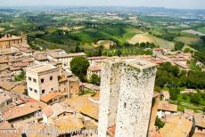 Historic Centre of San Gimignano - Historic Centre of San Gimignano: In the 12th and 13th centuries, San Gimignano became a wealthy town, because of its location along a...