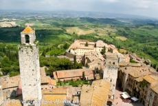 Historic Centre of San Gimignano - Historic Centre of San Gimignano: The oldest tower of the town is the Torre Rognosa, the tower is 51 metres high. Over the centuries, several...