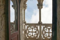 Tower of Belém - Tower of Belém: The balcony on the first floor is decorated with sculpted crosses of the Order of Christ. One of the most important...