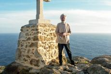 Santiago de Compostela (Old Town) - Cape Finisterre is situated on the Atlantic Coast, 90 km from Santiago de Compostela in Spain. Cape Finisterre is the final destination for...