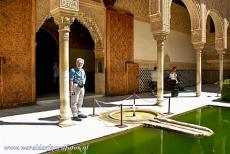 Alhambra, Generalife and Albayzín - Alhambra, Generalife and Albayzín, Granada: The Patio de Arrayanes, the Court of the Myrtles, is situated east of the Gilded Room and...
