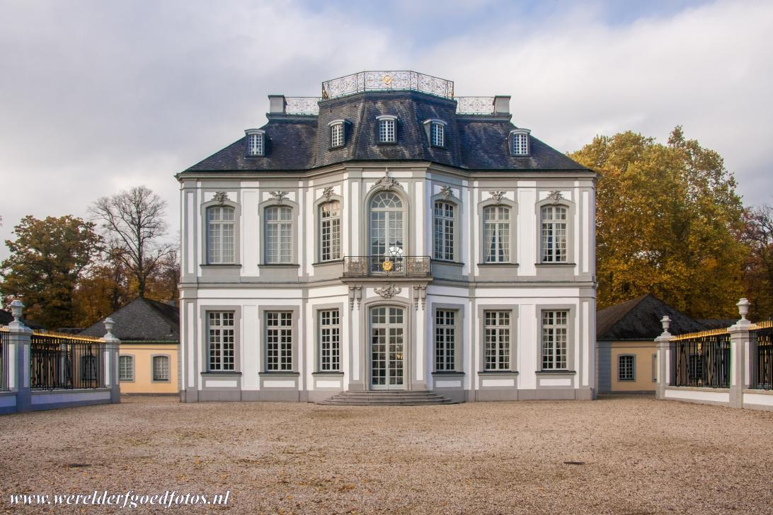 Falkenlust Castle in Brühl - Castles of Augustusburg and Falkenlust at Brühl: Falkenlust Castle is one of the most beautiful creations of the German Rococo, along...