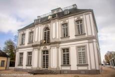 Falkenlust Castle in Brühl - Castles of Augustusburg and Falkenlust at Brühl: Falkenlust Castle is well-known for its mirror cabinet and staircase. The staircase of...