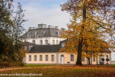 Falkenlust Castle in Brühl - Castles of Augustusburg and Falkenlust at Brühl: Falkenlust Castle is a Rococo hunting lodge, built in 1729-1737 for Clemens August I of...