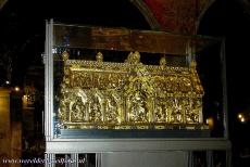 Aachen Cathedral - Aachen Cathedral: The Shrine of the Virgin Mary was completed in 1239. The shrine contains the four Great Relics of Aachen Cathedral: The...