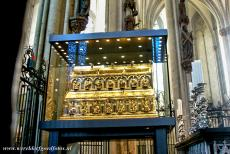 Cologne Cathedral - Cologne Cathedral: The Shrine of the Three Kings, or Three Magi, holds three golden crowned skulls believed to belong to the Three Magi. The...