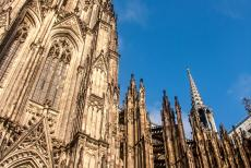 Cologne Cathedral - Cologne Cathedral: The towers are 157 meter high. Cologne Cathedral was completed in 1880, 632 years after construction began. Cologne...