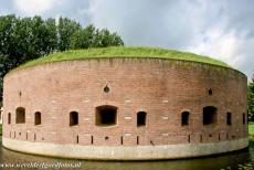 Defence Line of Amsterdam - Defence Line of Amsterdam: The Tower Fort on the Ossenmarkt (Ox Market) in the town of Weesp is surrounded by a moat. The Defence Line of...