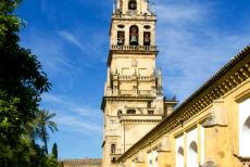 Historic Centre of Córdoba - Historic Centre of Córdoba: The Torre del Alminar in the Courtyard of the Orange Trees. The 93 metres high Torre del Alminar was...