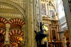 Historic Centre of Córdoba - Historic Centre of Córdoba: The Great Mosque of Córdoba is situated on the left hand side, the Cathedral of Córdoba on the...