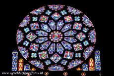 Chartres Cathedral - Chartres Cathedral is famous for its stained glass windows. The deep intense blue colour, known as 'Chartres Blue', is immortalized...