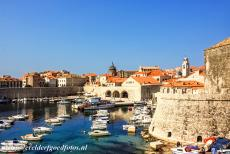 Old City of Dubrovnik - Old City of Dubrovnik: The City Harbour is one of the oldest parts of Dubrovnik. The arsenal with three arches was built in the 12th century. The...