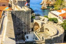 Old City of Dubrovnik - Old City of Dubrovnik: The fortified complex of the Pile Gate. The Pile Gate is the main gate of the walled city of Dubrovnik. The...