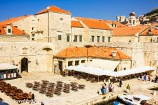 Old City of Dubrovnik - Old City of Dubrovnik: The Fish Market and the Fish Market Gate are situated at the Old Port of Dubrovnik. The Fish Market Gate was built...