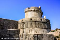 Old City of Dubrovnik - Old City of Dubrovnik: The Minceta Tower was built in 1463. The Minceta Tower is the highest point of the walls of the Old City of Dubrovnik, the...