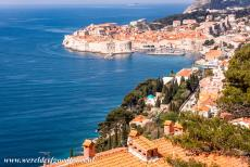 Old City of Dubrovnik - The Old City of Dubrovnik is located on a small peninsula surrounded by the Adriatic Sea. The seaside walls of Dubrovnik are much smaller than the...