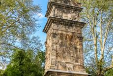 Column of Igel - The Column of Igel escaped destruction after the decline of the Roman Empire, because one of the reliefs was considered to be a representation of...