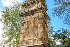 Column of Igel - The Column of Igel is the tallest Roman burial column north of the Alps. The square column was made of limestone and is about 23 metres...
