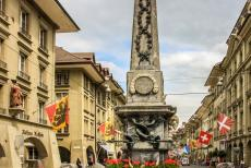 Old City of Bern - Old City of Bern: The Kreuzgasse Fountain is dating from 1779. There are more than hundred public fountains in the Old City of Bern. The public...