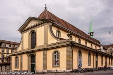 Old City of Bern - Old City of Bern: The French Church was built in the period 1270-1285 as part of a monastery that was founded in 1269. The French Church is the...