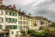 Old City of Bern - The Old City of Bern seen from the Münster Platform in the upper part of the city. The Münster Platform offers great views over the Old...