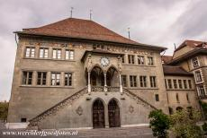 Old City of Bern - Old City of Bern: The Rathausplatz is dominated by the Bern Rathaus, the Town Hall of Bern. The Bern Rathaus has a double staircase with...