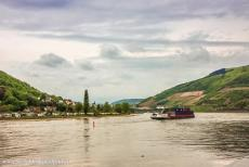 Upper Middle Rhine Valley - Upper Middle Rhine Valley: A camping site on the banks of the Rhine. The Upper Middle Rhine Valley has been inhabited since the Iron Age,...
