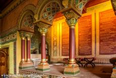 Wartburg Castle - Wartburg Castle: The Rittersaal is the Room of the Knights, the room is situated in the Palas, the oldest part of the castle. The Room of the...