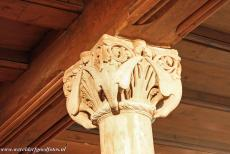 Wartburg Castle - Wartburg Castle: An original Romanesque carved stone capital in the Palas. There are about 200 carved capitals in the Palas, a third of them are...