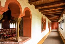 Wartburg Castle - Wartburg Castle: On the left hand side the decorated Singers' Hall. During the Middle Ages, the castle was a centre of arts and music....