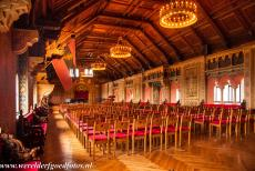 Wartburg Castle - Wartburg Castle: In the Singers' Hall the legendary minstrels' contest of Wartburg Castle took place in the Middle Ages. The...