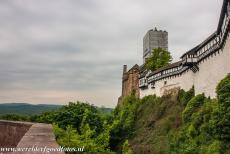 Wartburg Castle - Wartburg Castle was founded in 1067. The castle is situated on a steep forested hill near the town of Eisenach in...