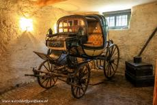 Classical Weimar - Classical Weimar: The horse carriage of Johann Wolfgang von Goethe at the Goethe House. He used this carriage for short trips in and around...