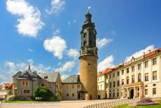 Classical Weimar - Classical Weimar: The Town Palace and the tower of the palace. The Town Palace is the former Ducal Court of Weimar. The composer J.S. Bach...
