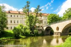 Classical Weimar - Classical Weimar: The Sternbrücke or Schlossbrücke and the Town Palace viewed from the Park an der Ilm. The Sternbrücke...