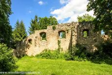 Classical Weimar - Classical Weimar: A romantic ruin, one of the follies in the Park an der Ilm. The park was created in the 18th century, influenced by Goethe. The...