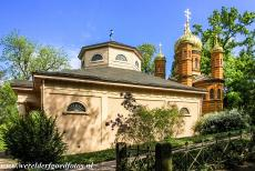 Classical Weimar - Classical Weimar: The Russian Orthodox chapel and the Ducal Vault (on the left hand side). The Russian Orthodox chapel is a mausoleum,...