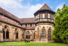 Maulbronn Monastery Complex - Maulbronn Monastery Complex: The 13th century Fountain House or Well House was supplied with fresh water from mountain springs to the north...
