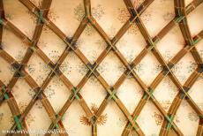 Maulbronn Monastery Complex - Maulbronn Monastery Complex: The decorated vaulted ceiling of the parlatorium (conversation room). The parlatorium was the only...