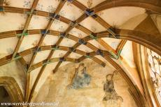 Maulbronn Monastery Complex - Maulbronn Monastery Complex: The parlatorium (conversation room) is richly decorated. The parlatorium was built in 1403. The room...