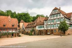 Maulbronn Monastery Complex - Maulbronn Monastery Complex: Several half-timbered buildings inside the monastery grounds. Most of the monastery buildings date from the 12th...