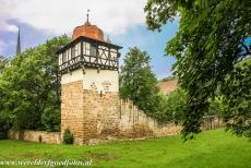 Maulbronn Monastery Complex - Maulbronn Monastery Complex: One of the towers of the medieval walls. The monastery is surrounded by fortified walls and towers,...