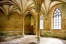 Maulbronn Monastery Complex - Maulbronn Monastery Complex: The Chapter Hall of the monastery was built in the period 1270-1300. The Maulbronn Monastery is one of the first...