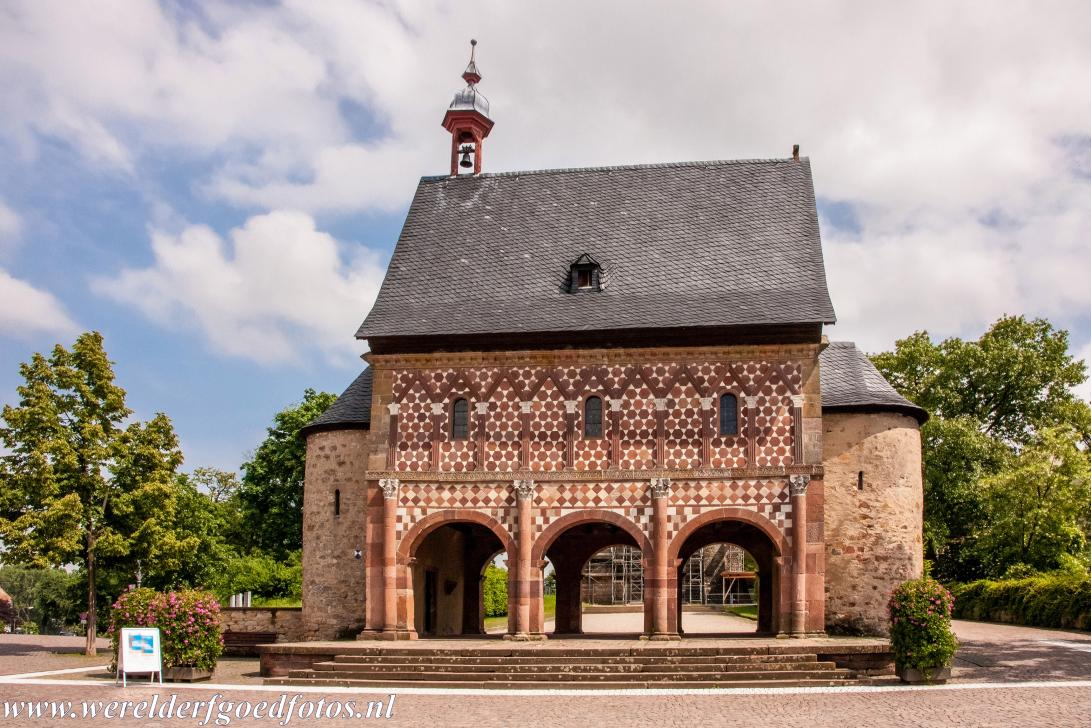 Abbey of Lorsch - The King's Hall of the former Abbey of Lorsch. The Imperial Abbey of Lorsch was founded in 764. The abbey was protected by Charlemagne....