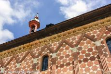 Abbey of Lorsch - Abbey of Lorsch: The façade of the King's Hall. The King's Hall is the oldest Carolingian building north of the Alps...