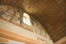Abbey of Lorsch - Abbey of Lorsch: The upper floor of the King's Hall is decorated with wall paintings. The oldest painting dates from the 9th century, the...