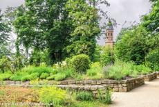 Abbey of Lorsch - Abbey of Lorsch: The herb garden is based on the Lorsch Pharmacopoeia, an important book of classical herbal medicine,...